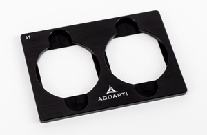Petri dish adapter 60 mm, 2-position