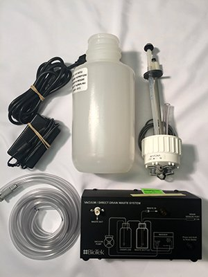 Direct Drain Waste System Upgrade Kit 115V/230V, 4L Bottles