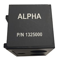 Alpha filter cube for 384 well measurements