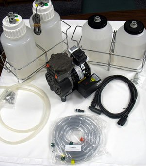 Complete Dispense/Waste System 115/230V, 4L Bottles