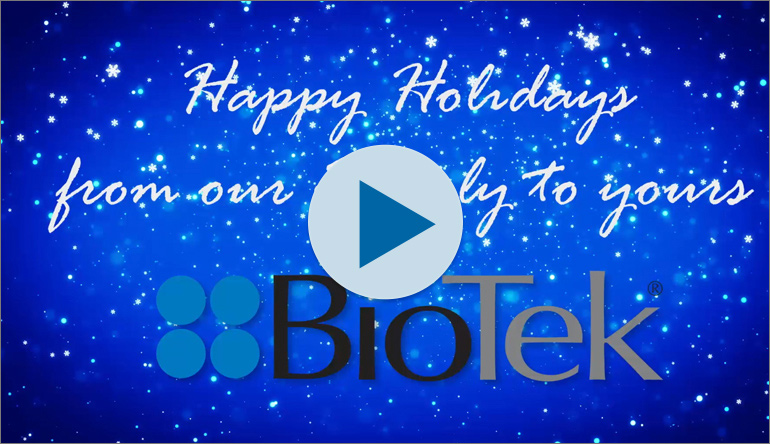 BioTek Holiday Video 2017