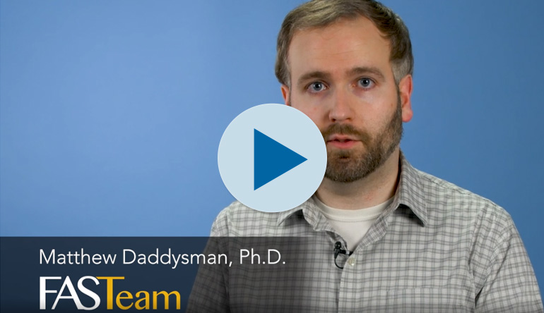 Matt Daddysman, Ph.D., Field Applications Scientist
