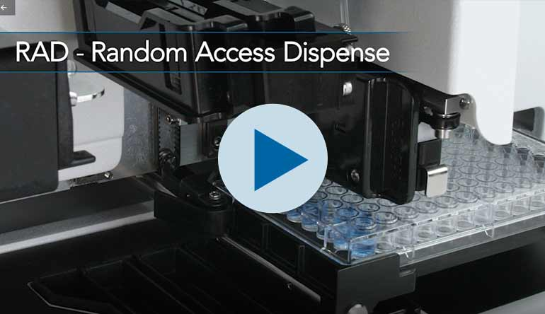 MultiFlo™ FX - RAD™ Mapped Dispensing