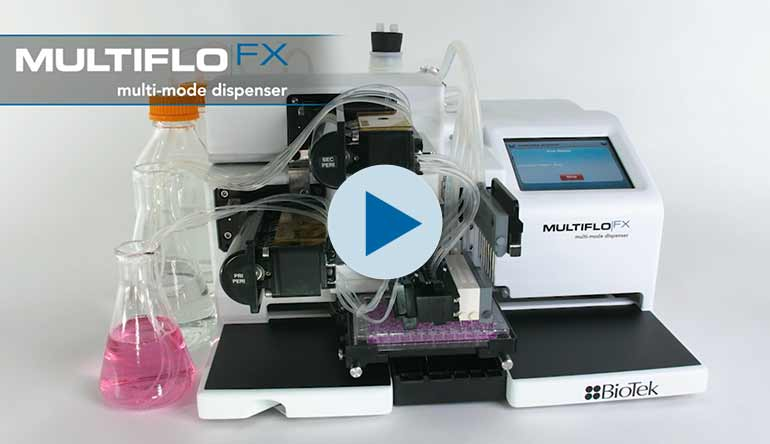 MultiFlo FX Mikroplatten-Dispenser mit RAD Technologie