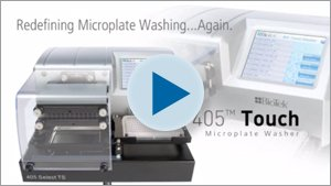 BioTek Introduces 405 Touch Microplate Washer at SLAS 2012 Video
